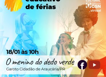 Educativo de férias – O Menino do Dedo Verde