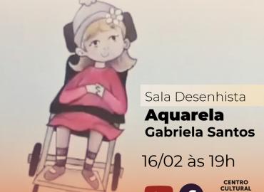 Sala Desenhista com Gabriela Santos