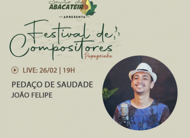 Festival Papagoiaba de Compositores – João Felipe