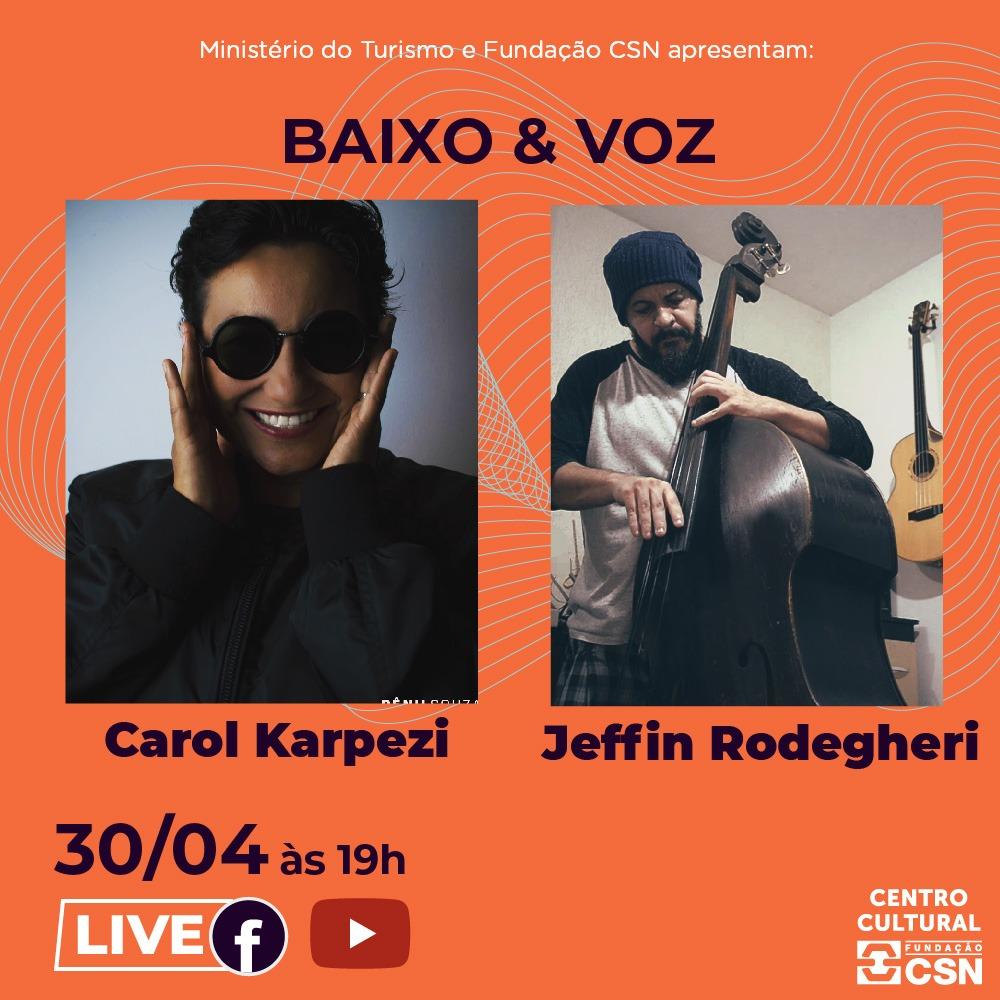 Live Musical com Baixo & Voz