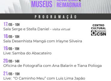 Centro Cultural Fundação CSN participa da 19ª Semana Nacional de Museus