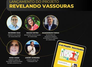 Live de lançamento do Projeto Revelando Vassouras