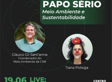 Papo Sério com Tiana Polioga e Glauco Gil Sant'anna
